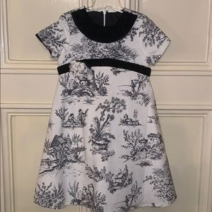 Gorgeous Trish Scully Toile Dress